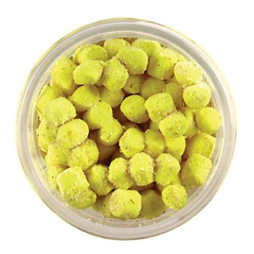 Berkley PowerBait Chroma-Glow Crappie Nibbles Glow Yellow Bait