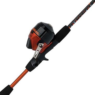 "Shakespeare Youth Amphibian Spincast 5' 6"" Medium Rod/Reel Combo Orange"