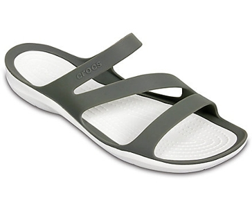 Crocs Women's Swiftwater Sandal- Grey