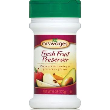 Mrs. Wages Fresh Fruit Preserver 6oz