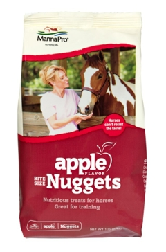 Manna Pro 4lb Apple Flavored Horse Treat Nuggets 92954254