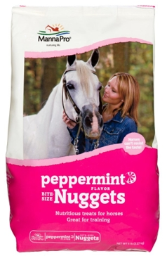 Manna Pro 4lb Peppermint Horse Treat Nuggets 92984254