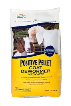Manna Pro Positive Pellet 6lb Goat Dewormer 390052339