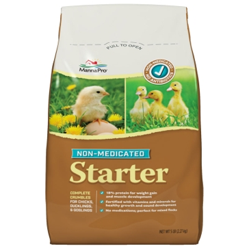 Manna Pro Chick Starter Non‑Medicated Feed 5lb