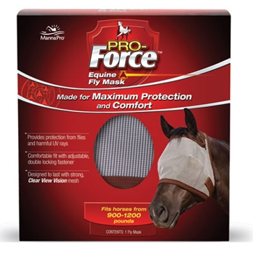 Manna Pro Pro-Force Fly Mask Horse