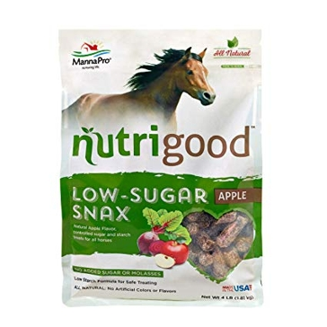 Manna Pro 4lb Nutrigood Horse Treats-Brown