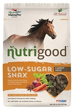 Manna Pro 4lb Nutrigood Horse Treats-Orange