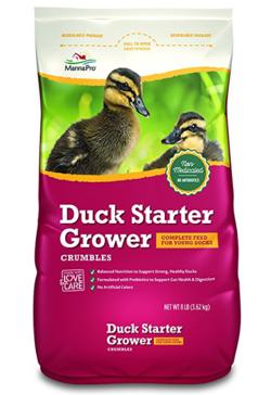 Manna Pro 8 lb Mana Pro Duck Starter Grower Crumble