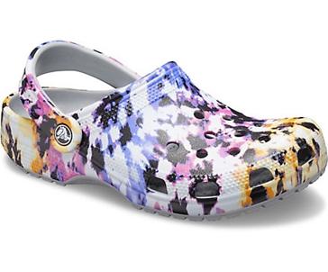 Crocs Women's Classic Tie-Dye Mania Clog