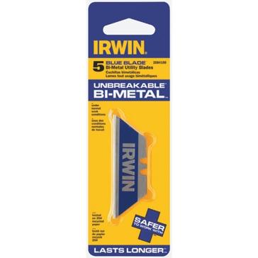 Irwin 5 Pack Bi-Metal Utility Knife Blades 2084100