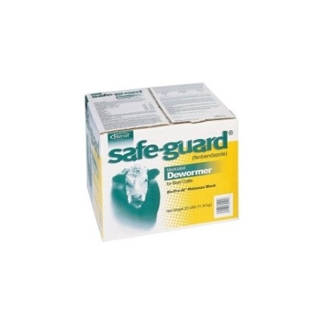 Safeguard 20% Sweet Block 25lb