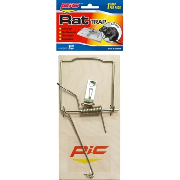 Pic Single Wood Rat Trap