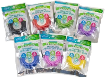 Pic Bugables Mosquito Repellent Wristband Coil BCBTS-200