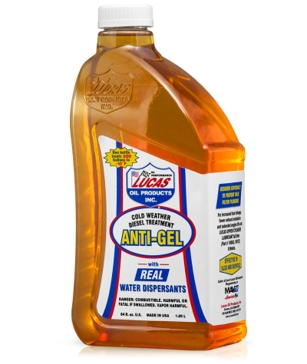 Lucas Oil Anti-Gel Cold Weather Diesel Treatment- 64 Oz.
