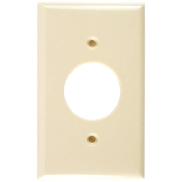 Cooper Ivory Receptical Plate 2131V-BOX