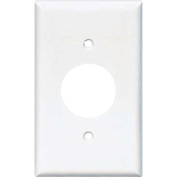 Cooper White Receptical Plate 2131W-BOX