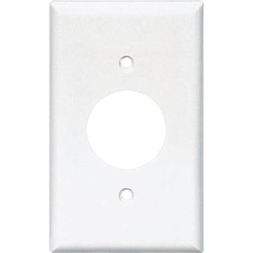 Cooper White Receptical Plate 2131W-BOX