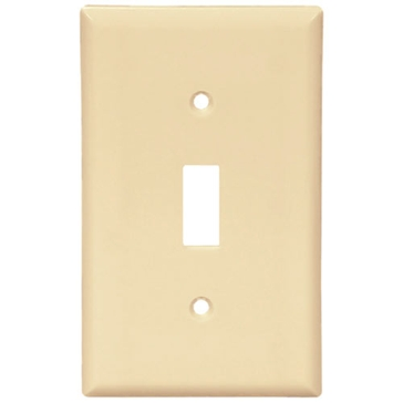 Cooper Ivory Toggle Switch Plate 2134V-BOX