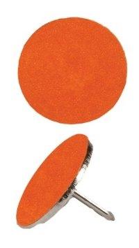 HME Products Trail Marking Metal Reflective Tacks 50 Orange