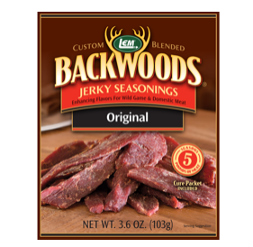 LEM Backwoods 3.65 Oz. Original Jerky Seasoning 9064