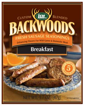 LEM Backwoods 1.67 Oz. Fresh Sausage Breakfast Seasoning 9002