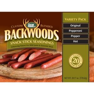 LEM Backwoods 4 Pack Snack Stick Seasoning Variety Pack 9387