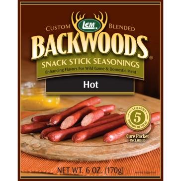 LEM Backwoods 6 Oz. Snack Stick Hot Seasoning 9268