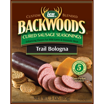 LEM Backwoods 3 Oz. Cured Sausage Trail Bologna Seasoning 9272