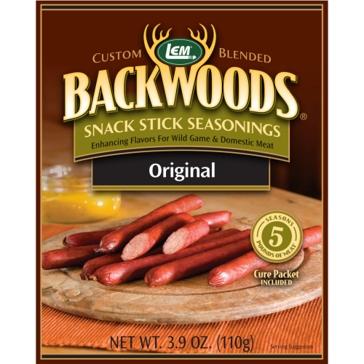 LEM Backwoods 3.91 Oz. Snack Stick Original Seasoning 9507