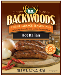 LEM Backwoods Hot Italian Fresh Sausage Seasoning 9005