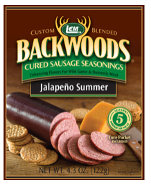 LEM Backwoods Jalpeno Summer Cured Sausage Seasoning 9025