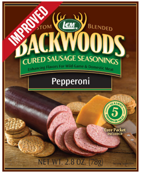 LEM Backwoods Pepperoni Cured Sausage Seasoning 9509