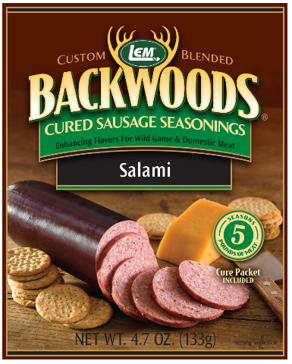 LEM Backwoods Salami Cured Sausage Seasoning 9277