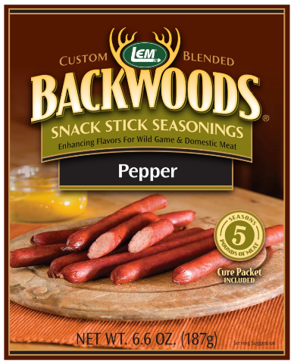 LEM Backwoods Pepper Snack Stick Seasoning 9271