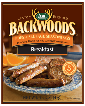 LEM Backwoods Breakfast Fresh Sausage Seasoning 9006