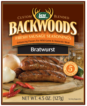 LEM Backwoods Bratwurst Fresh Sausage Seasoning 9012