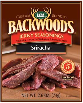 LEM Backwoods Sriracha Jerky Seasoning 9088