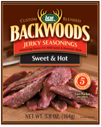 LEM Backwoods Sweet & Hot Jerky Seasoning 5 lbs.