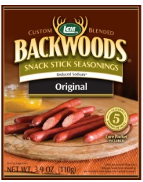 LEM Backwoods Reduced Sodium Original Snack Stick Seasoning 5 lbs.