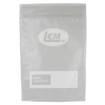 "LEM MaxVac Gallon Vacuum Bag 11"" X 16"" - 28 Count"