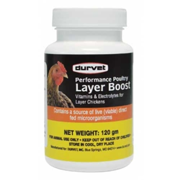 Durvet Performance Poultry Layer Boost 120gm