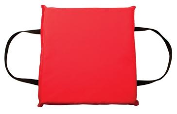 Onyx Red Type IV Foam Boat Cushion