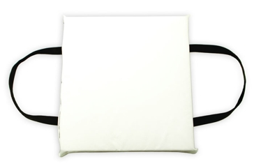 Onyx White Type IV Foam Boat Cushion