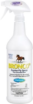 Farnam Bronco e Fly Spray 32 oz