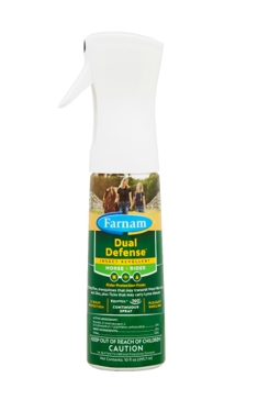 Dual Defense™ Horse + Rider Insect Repellent 10 OZ.