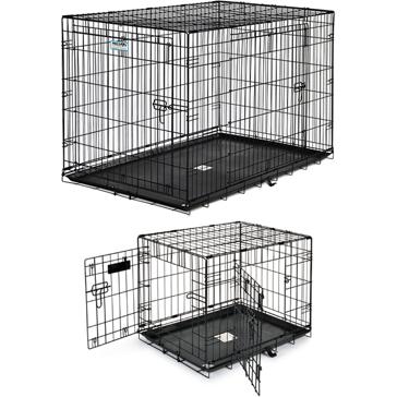 Precision Pet ProValu 2-Door Wire Dog Crate