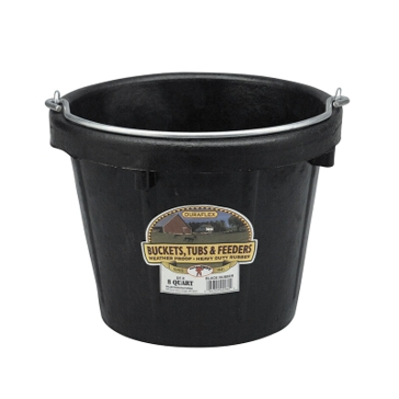 Little Giant 8-Quart Light-Duty Rubber Bucket