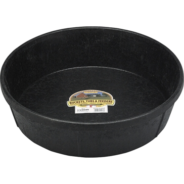 Little Giant 3 Gallon Rubber Feed Pan