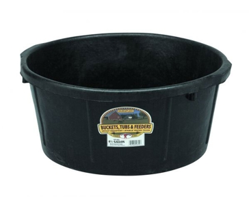 Little Giant 6.5gal Rubber All-Purpose Tub