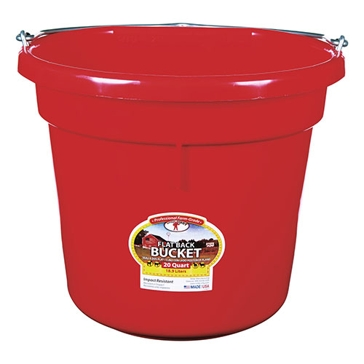 Little Giant 20 Qt. Red Bucket P20FB